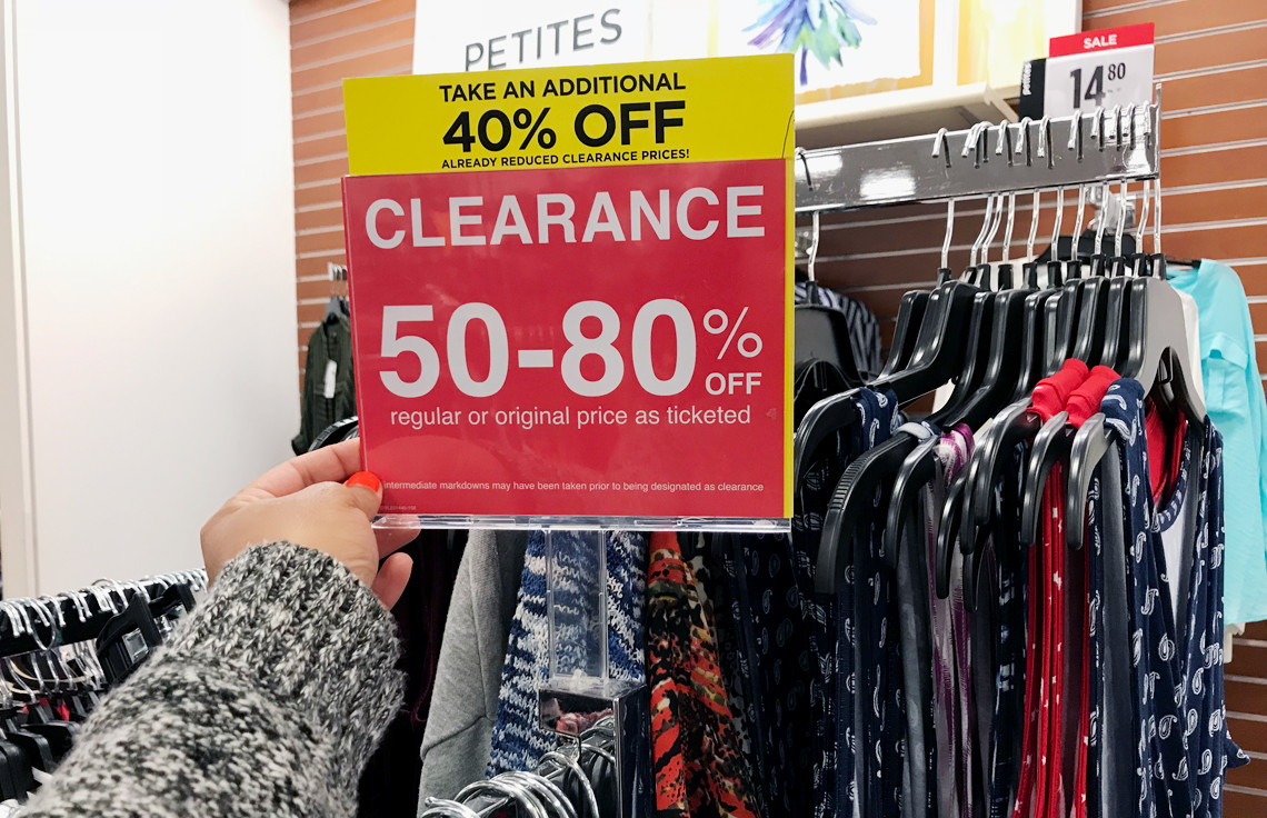 d84b1733463 In-Store Only  Extra 40% Off Clearance at JCPenney! - The Krazy Coupon Lady