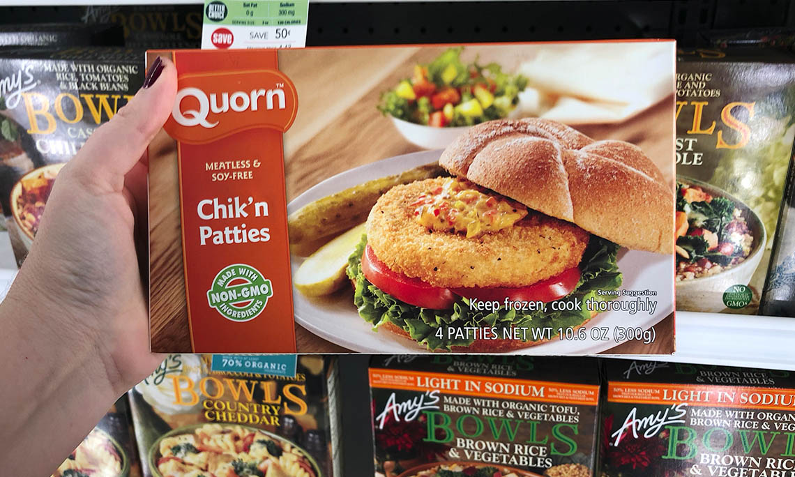 quorn meatless frozen items only 0 60 at publix the krazy