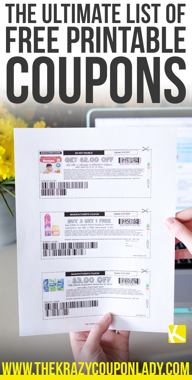 2248ac36a697 How to Find and Print Free Internet Coupons - The Krazy Coupon Lady