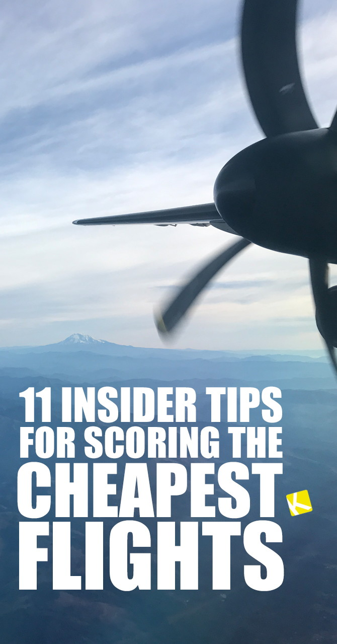 11 Insider Tips for Scoring the Cheapest Flights - The Krazy Coupon Lady