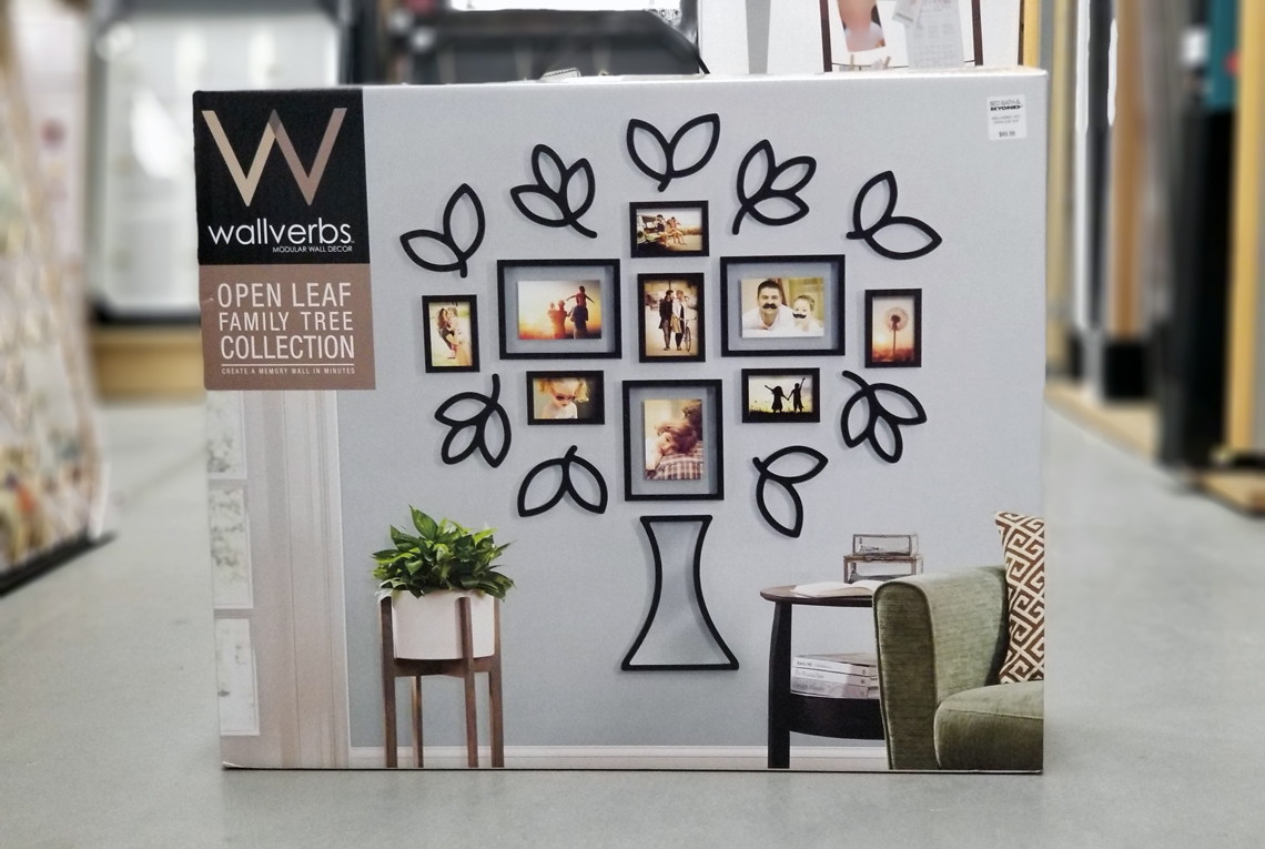 Wallverbs Open Leaf Tree Frame Set 19 99 At Bed Bath Beyond