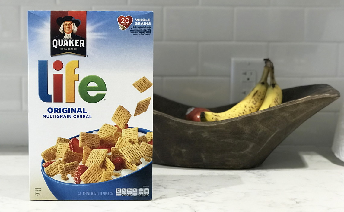 Quaker Original Life Cereal 3-...