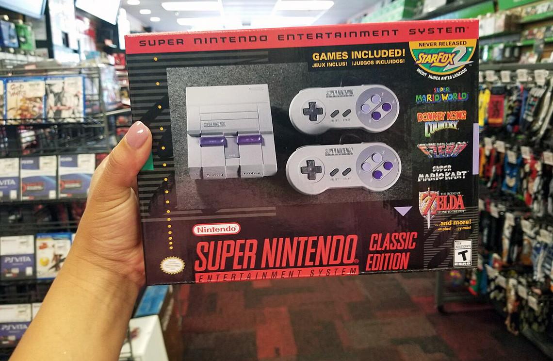 Nintendo Super NES Classic Edition – In Stock at GameStop! - The