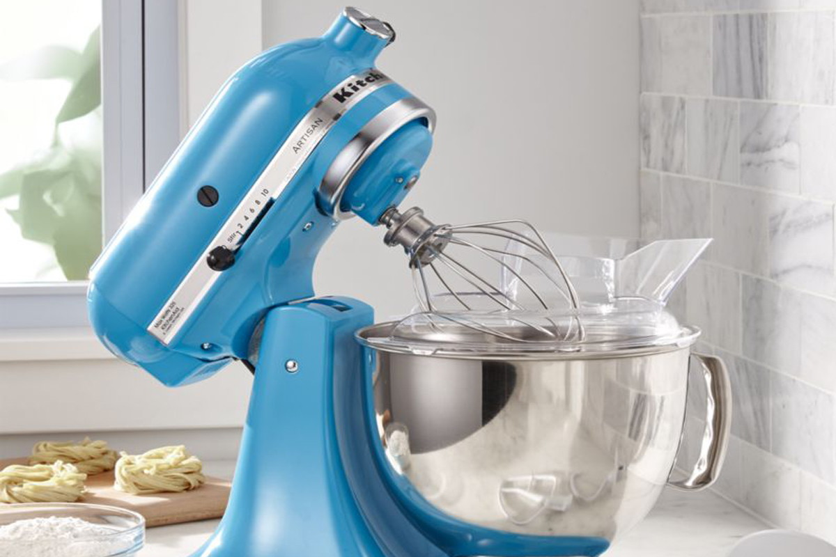 KitchenAid 5-Quart Stand Mixer (Crystal Blue), Only $169.99 Shipped ...