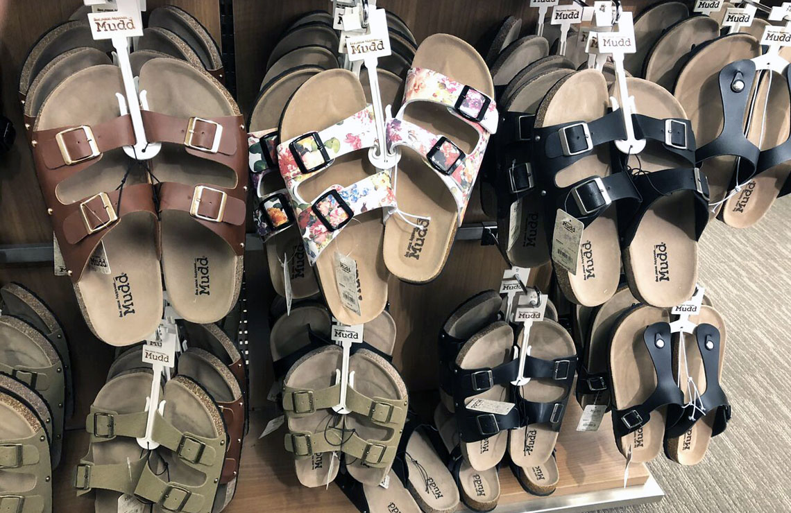 d9b24ad7ff7 Mudd Double Buckle Sandals