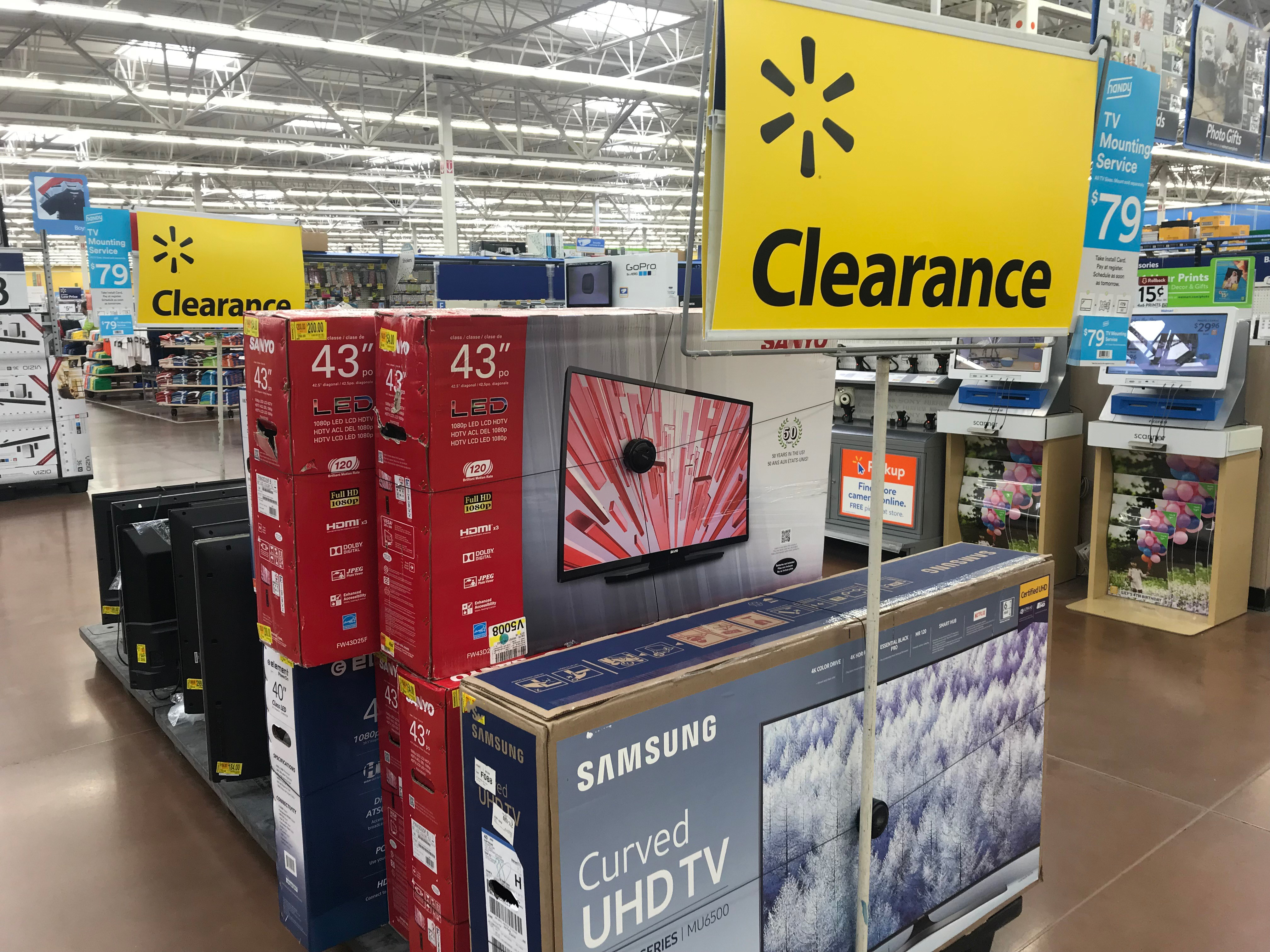 Up to 75% Off TV Clearance at Walmart: 55″ Ultra HDTV, Only