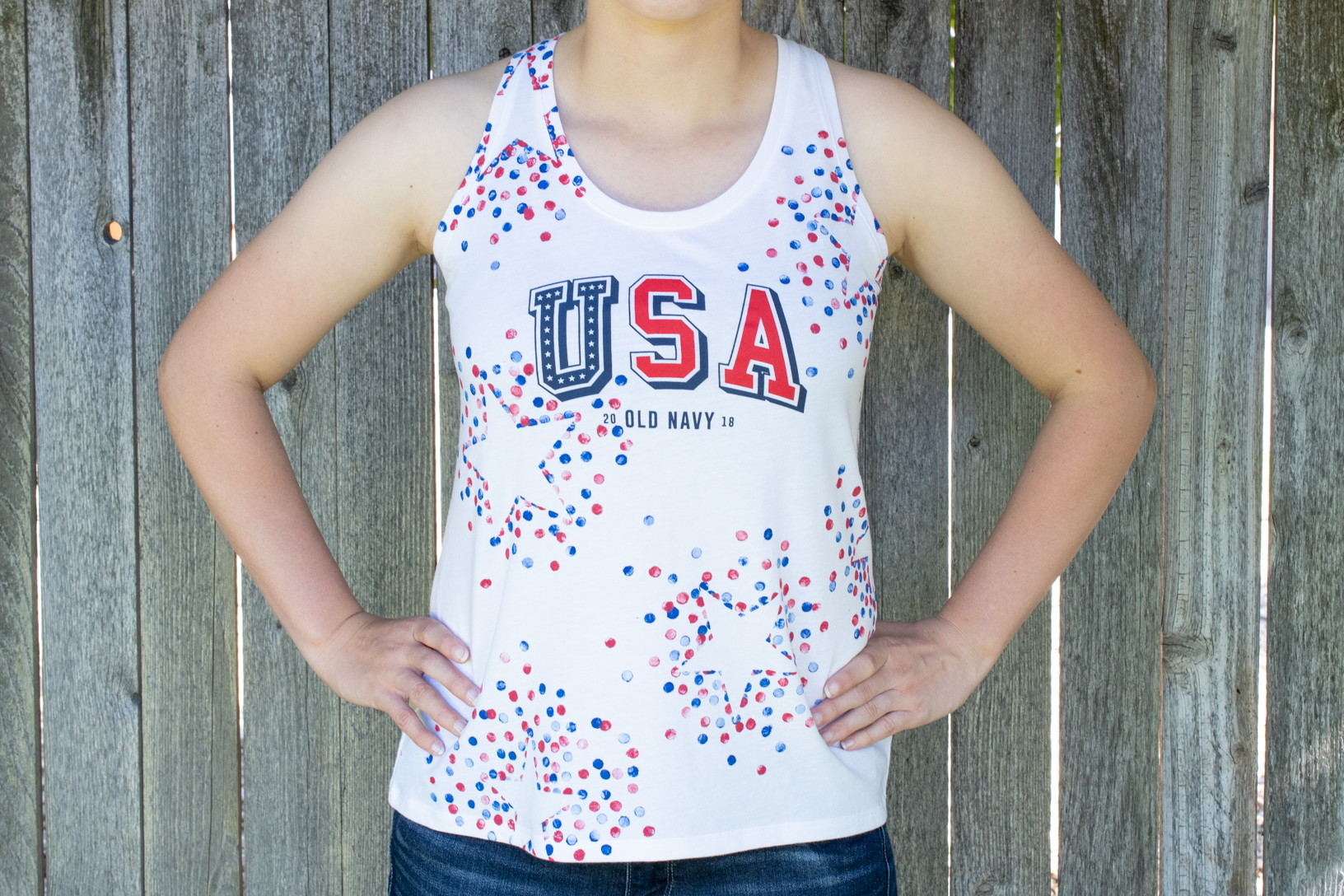0c46eaaa53bb8 6 Ways to Bling Out Your $5 Old Navy Shirt for the 4th of July - The Krazy  Coupon Lady
