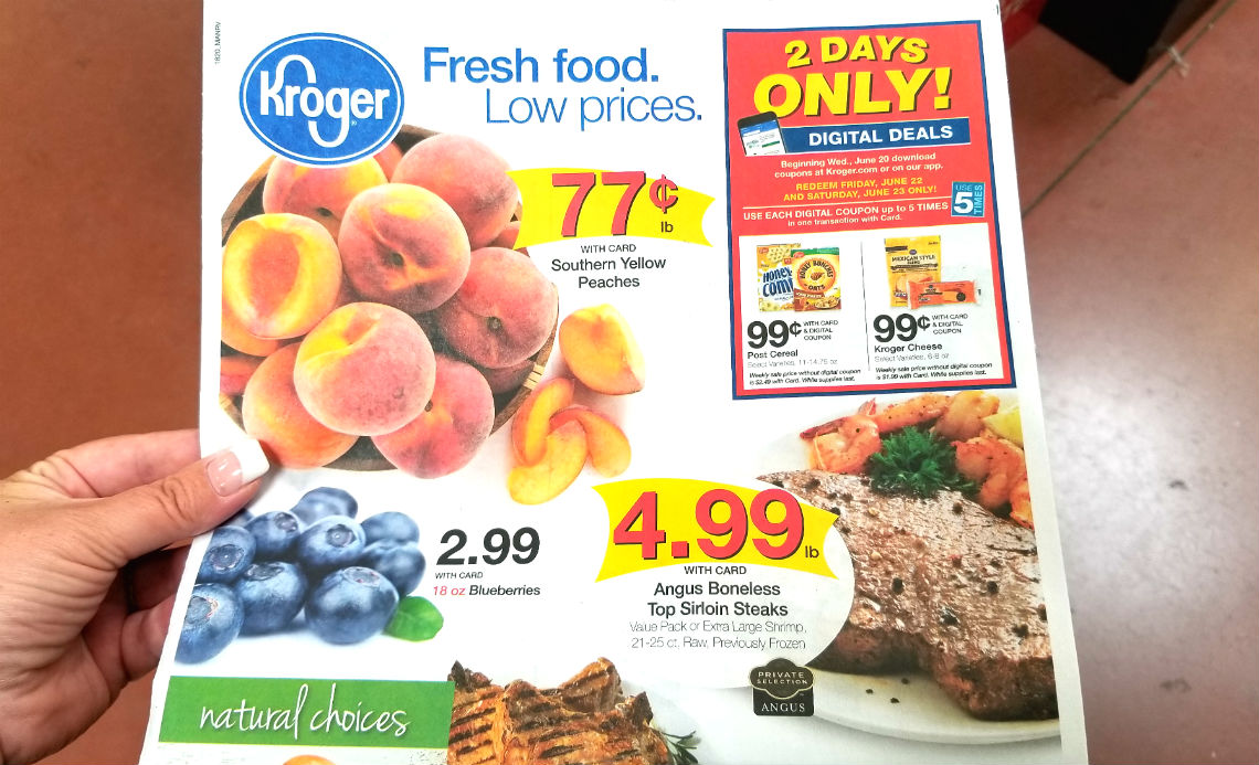 Kroger Coupon Deals: Week of 6/20 - The Krazy Coupon Lady