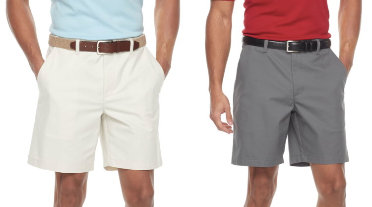 08b2f351 Buy 1 Men's Croft & Barrow Classic-Fit Easy-Care Stretch Flex-Waist  Flat-Front Shorts (reg. $44.00) $21.99. Use code TAKE20 to get 20% off your  sitewide ...
