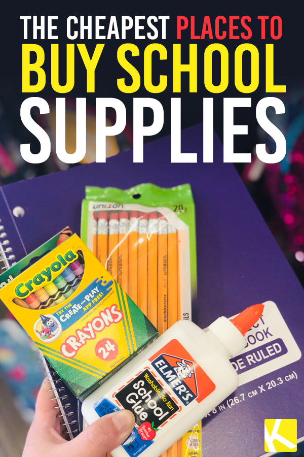 18 Best Places to Get All the Back-to-School Supplies for