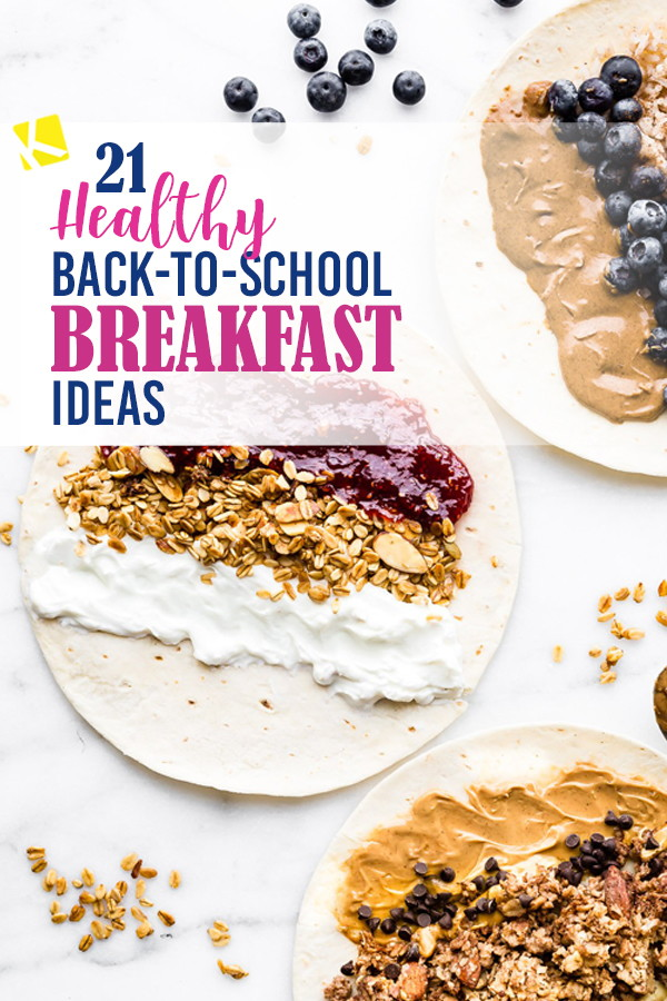 16 Easy And Healthy Breakfast Ideas For Back To School The Krazy