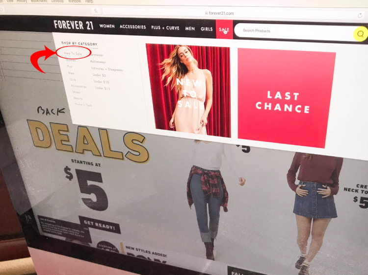 9851ac8f3 22 Ways to Save at Forever 21 That Your Friends Probably Don't Know - The  Krazy Coupon Lady