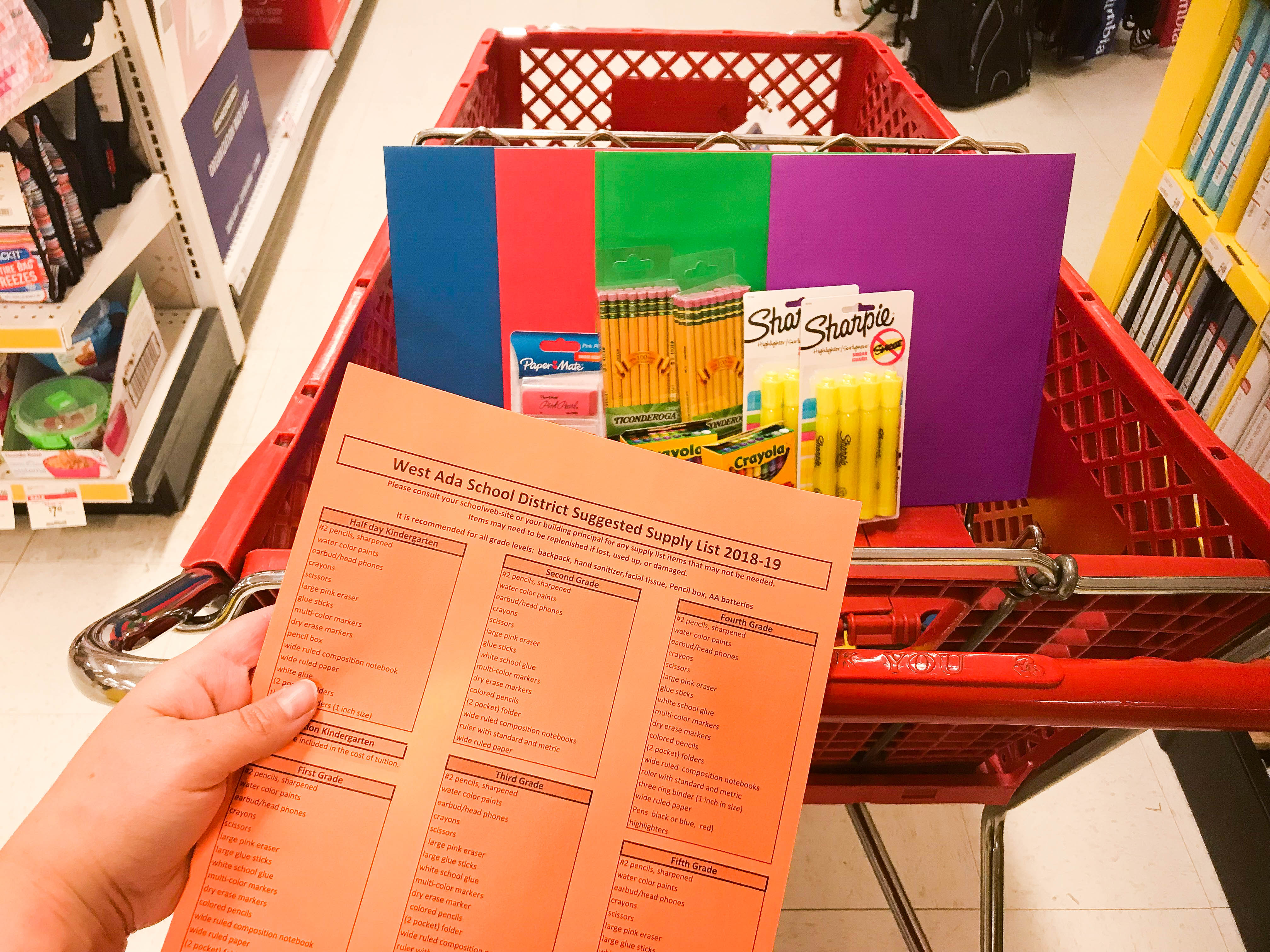 photograph about School Supply Printable Coupons referred to as 18 Suitable Areas toward Purchase All the Back again-in direction of-University Products for