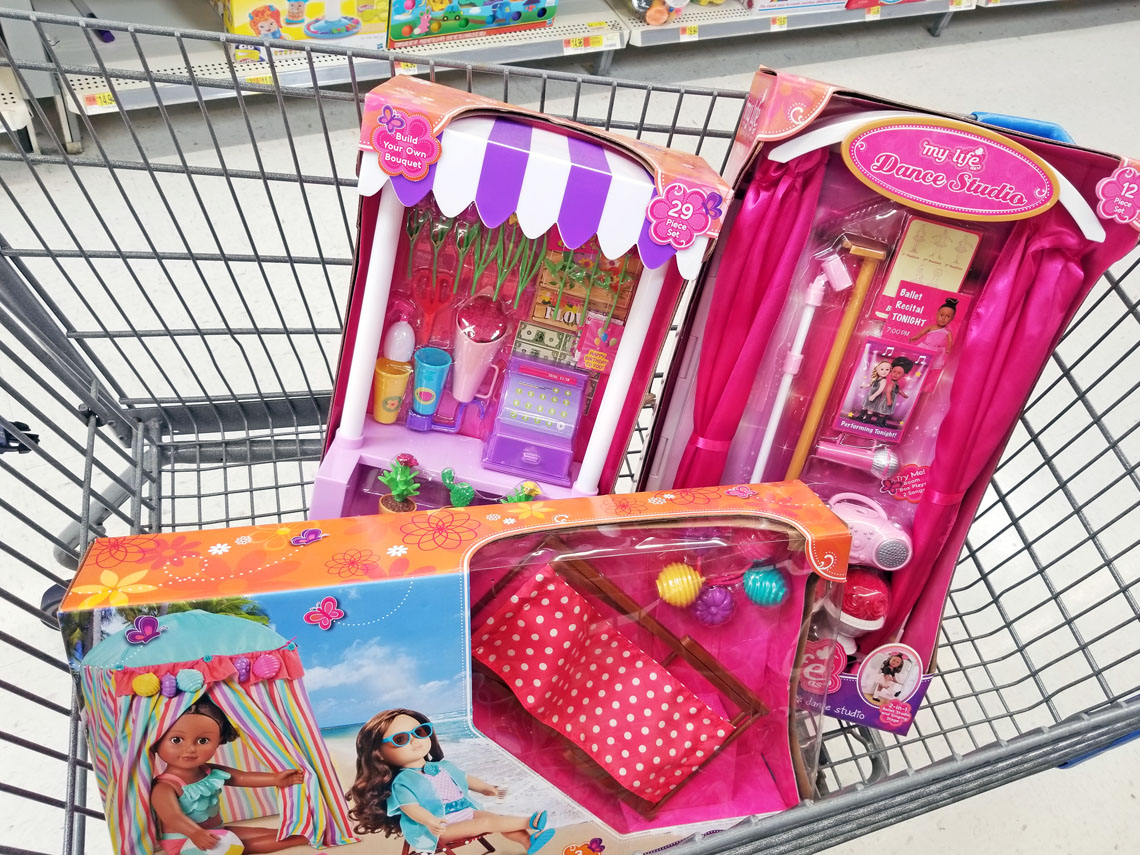 walmart clearance  my life as toys starting at  5 00