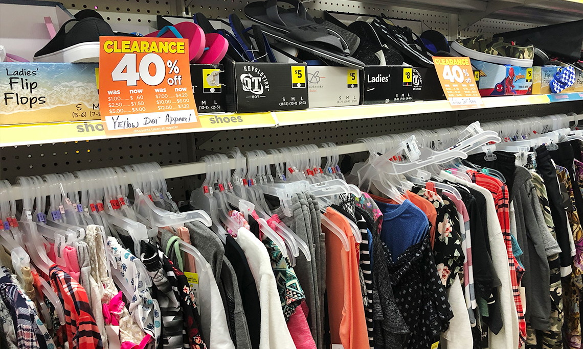 Clearance Clothes Accessories As Low 075 At Dollar General