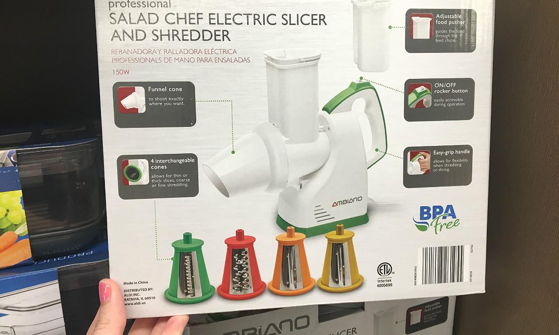 Salad Chef Electric Vegetable Slicer and Shredder, Only $14 99 at