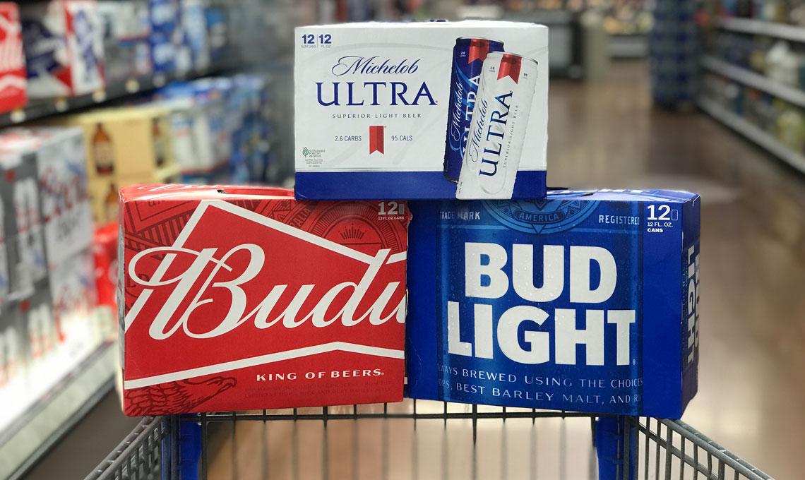 Save $15 00 on Budweiser, Bud Light & Michelob Ultra at