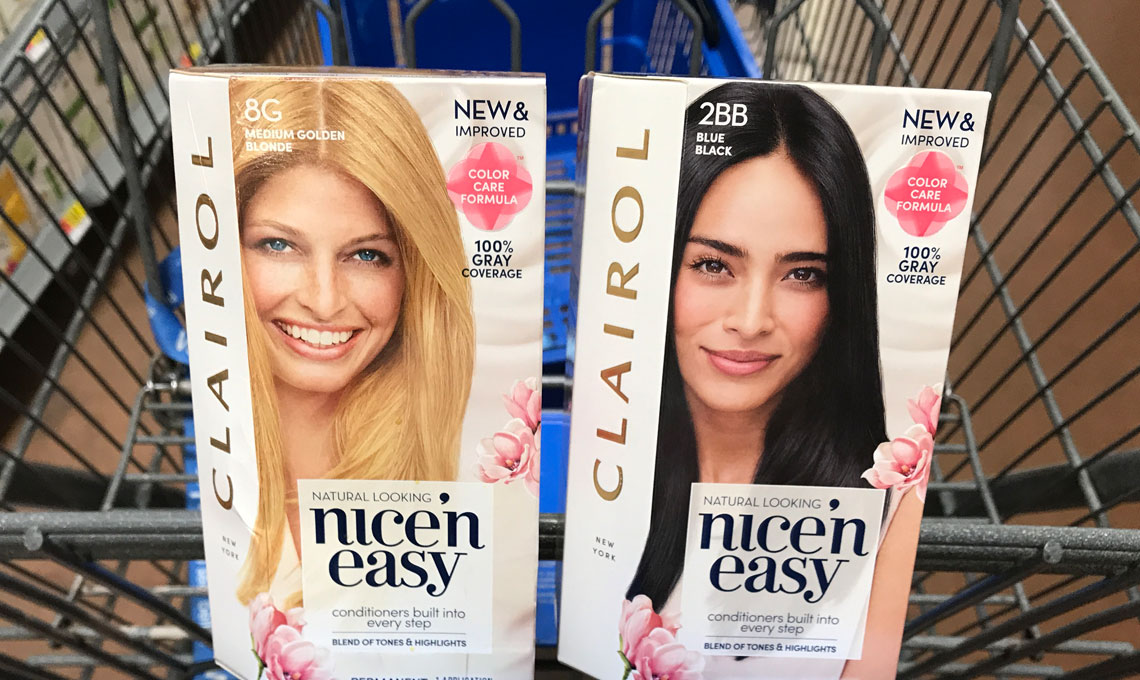 Bogo Clairol Coupon Save 692 On Nicen Easy At Walmart The