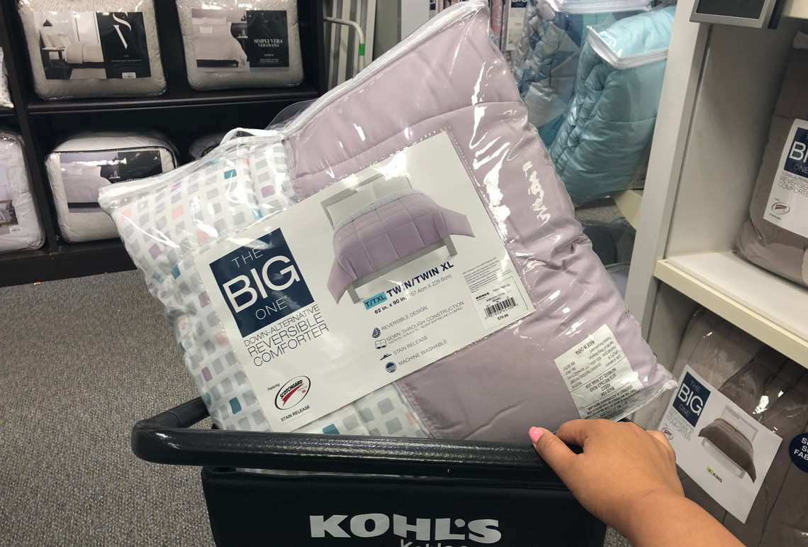 Down Comforter Amp Mattress Topper 44 At Kohl S 240 Value The Krazy Coupon Lady