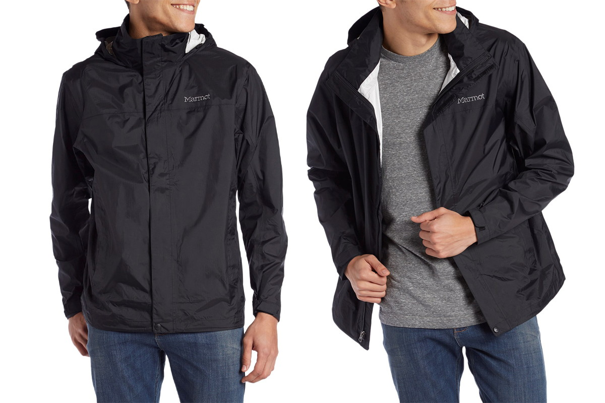 004d4bf67fba Save 50% on Men s Marmot PreCip Jacket on Amazon (L and XL Only ...