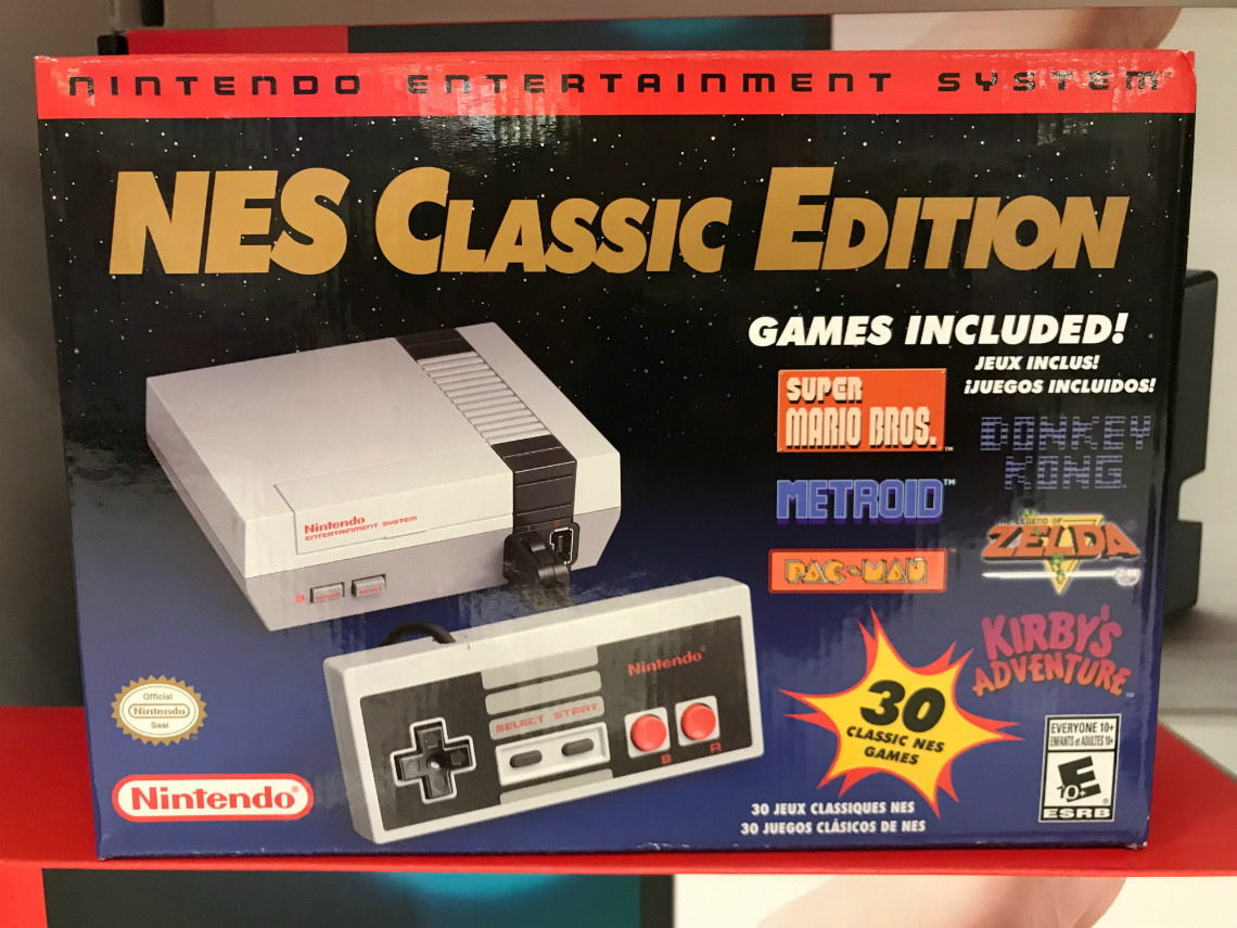 Target Com Nintendo Nes Classic Game Console Only 56 99 Hurry