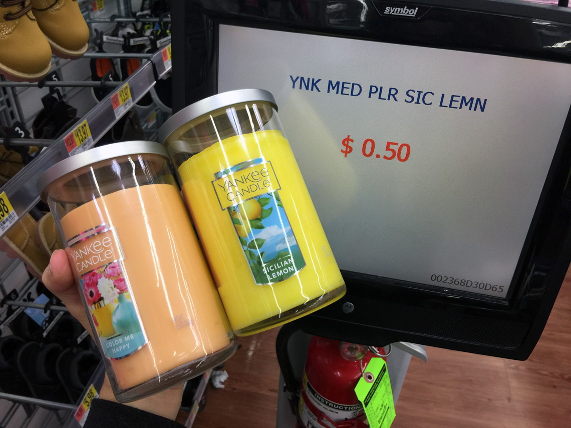 97% Off Clearance: $0.50 Medium & $1.00 Large Yankee Candles at ...