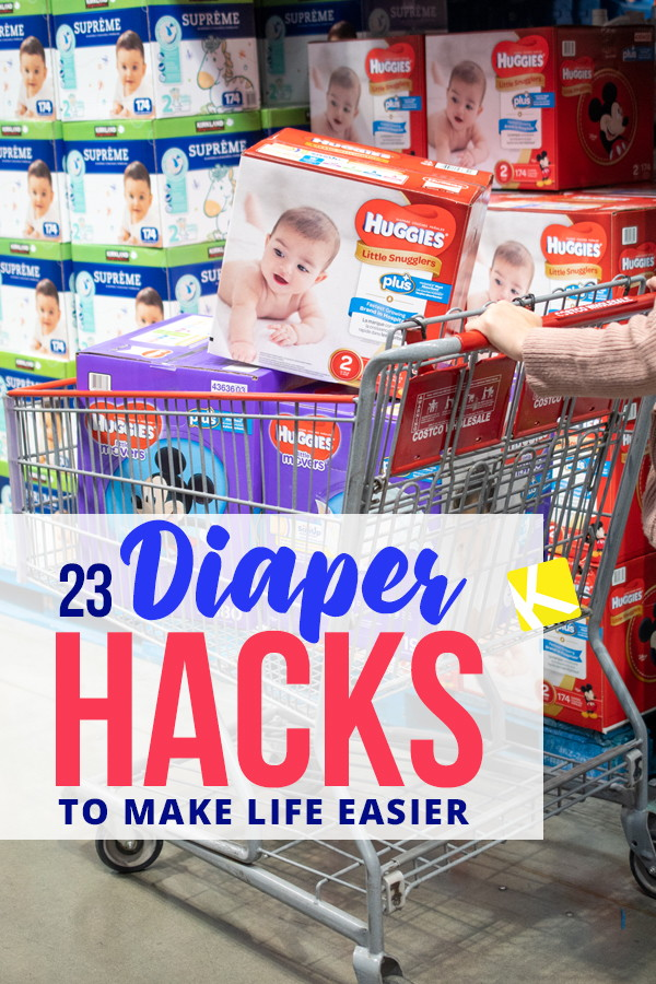 072e92715 23 Diaper Hacks That ll Change Your Life - The Krazy Coupon Lady