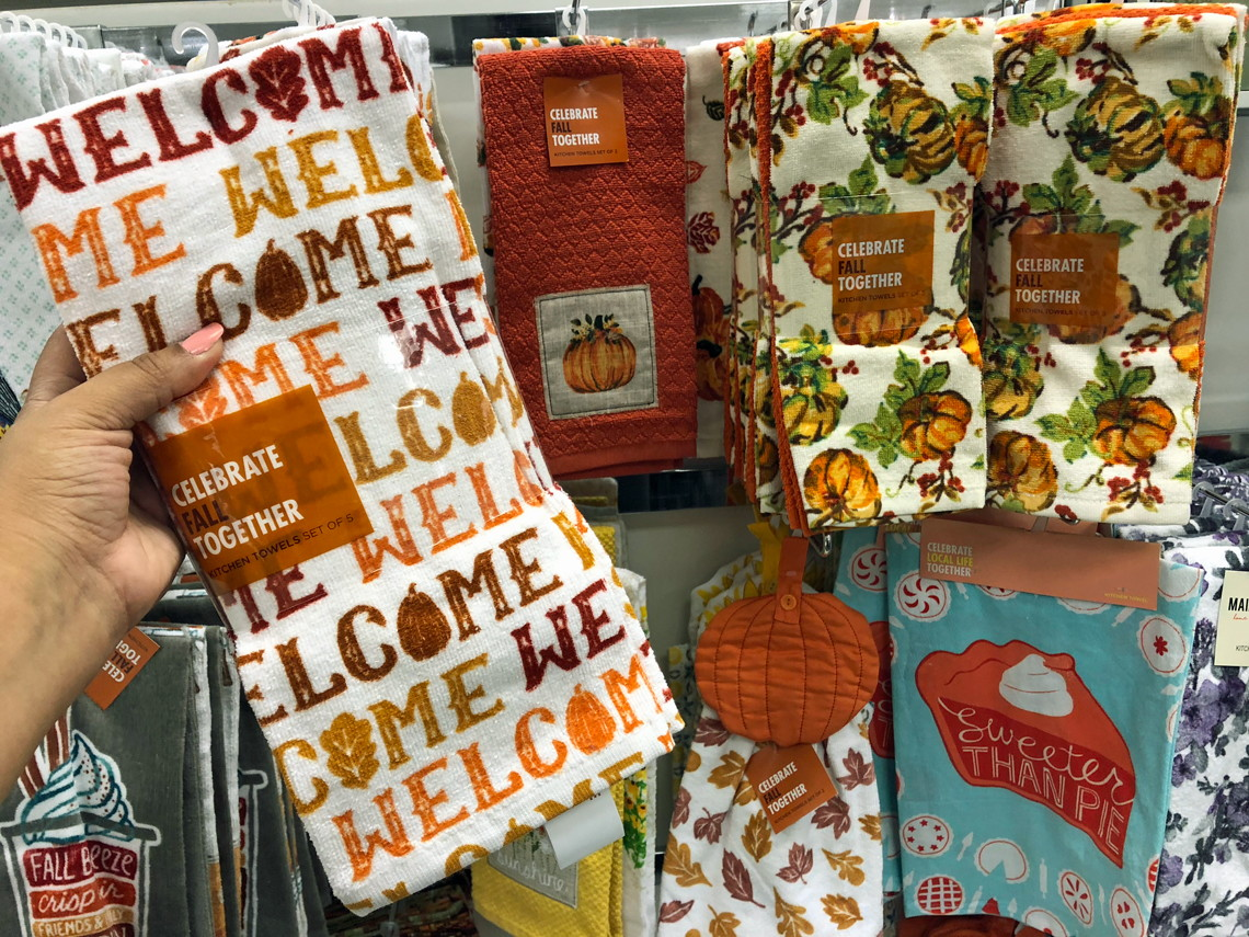 Celebrate Fall Together Kitchen Towels 5 43 At Kohl S