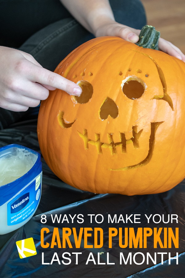 8 Ways To Make Your Carved Pumpkin Last All Month The