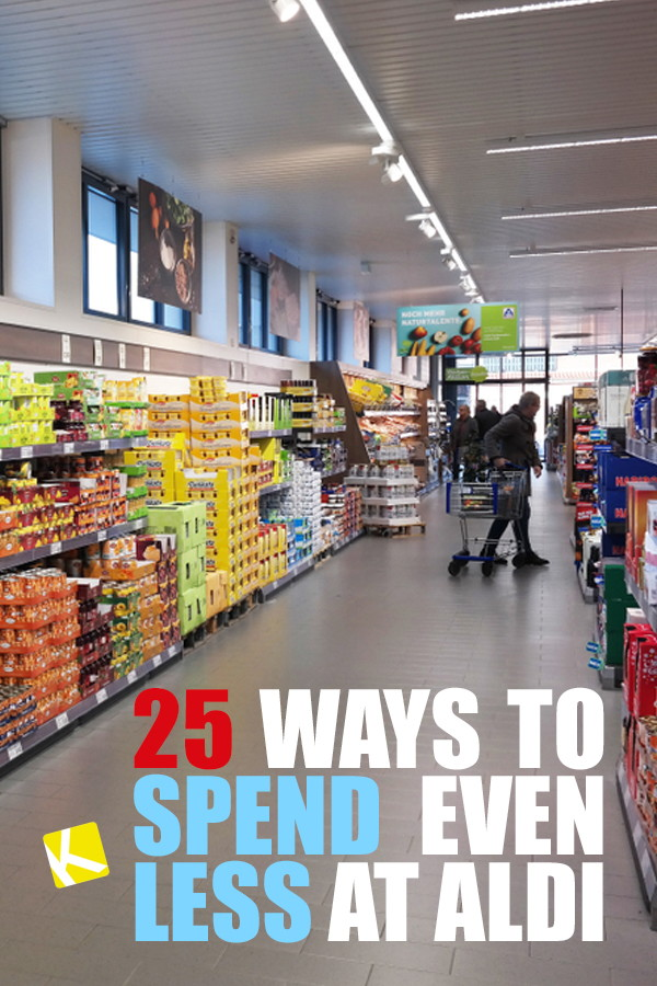 25 Ways to Spend Even Less at ALDI - The Krazy Coupon Lady