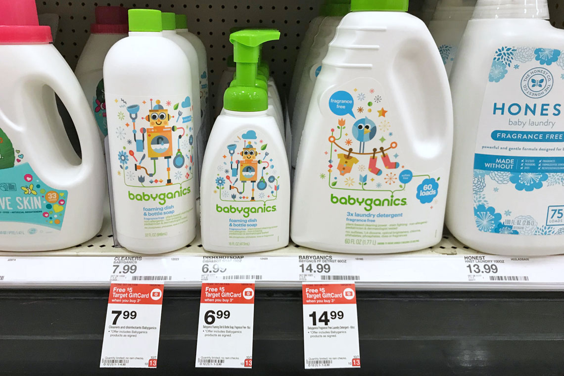image regarding Babyganics Coupon Printable identified as Babyganics Wipes Cleaning soap, as Minimal as $1.32 at Concentration! - A