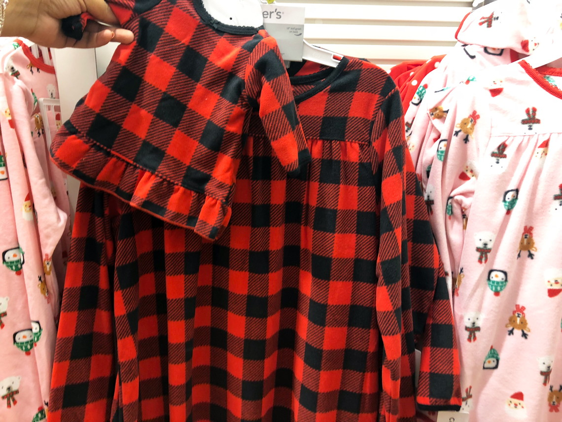 27a7dcdae Carter s  50% Off Christmas Pajamas for the Family + Extra 20% Off ...