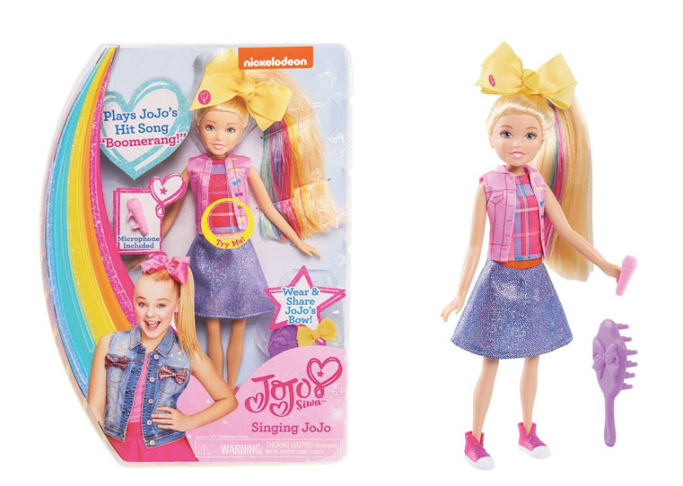In Stock  Just Play JoJo Siwa Singing Doll af759d6a8