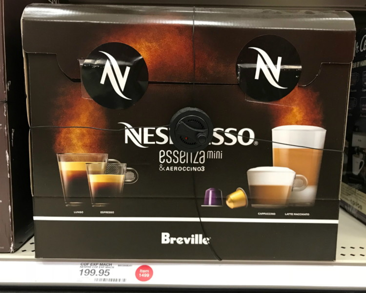 Nespresso Coffee & Espresso Makers, Only $93 09 at Target