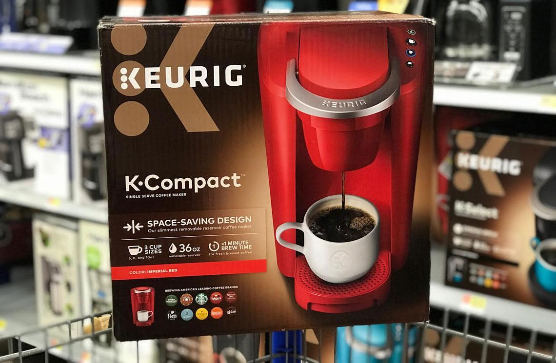 Keurig K Compact Coffee Maker 4996 Shipped At Walmart The