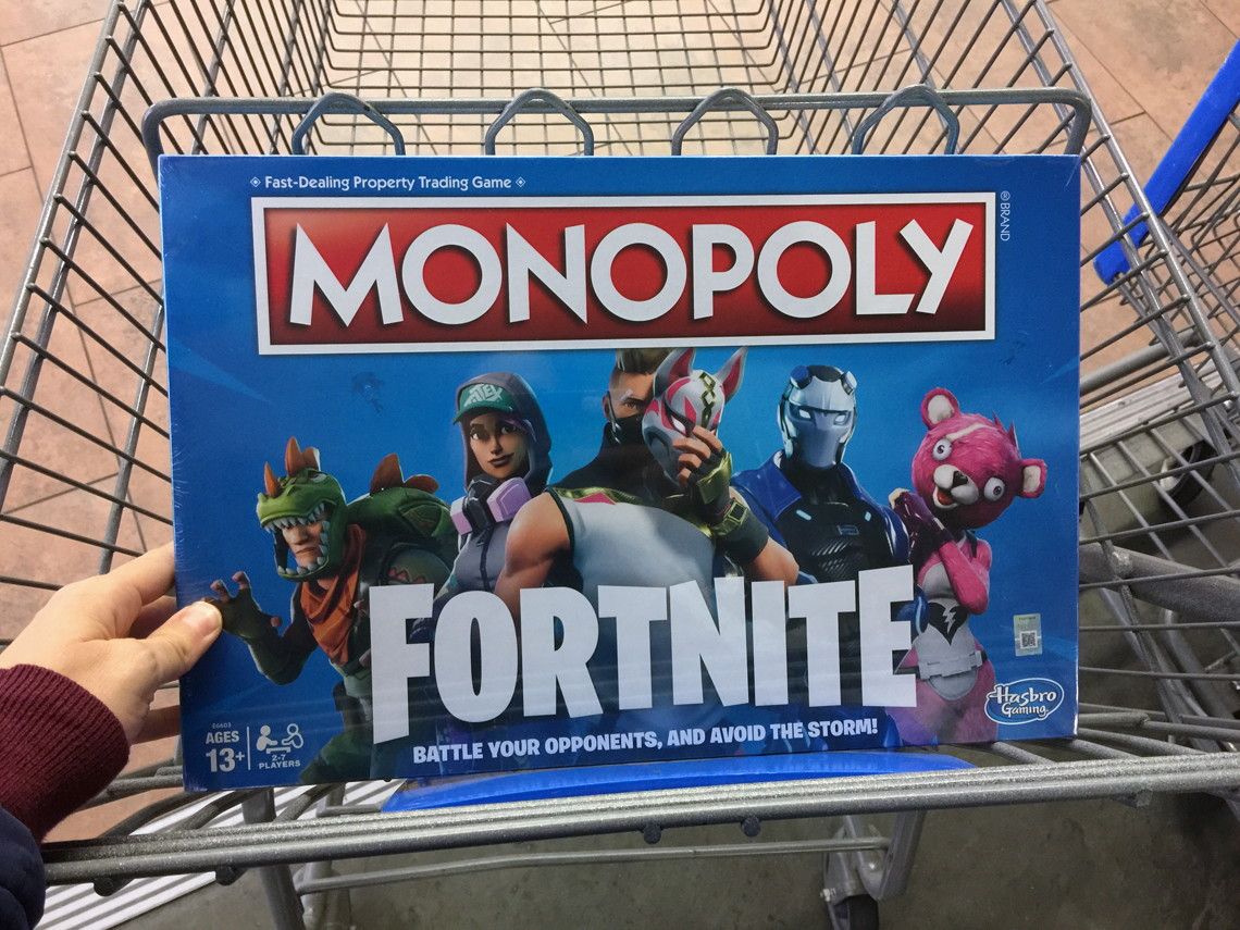 Monopoly Fortnite Board Game Only 19 99 Act Fast The Krazy
