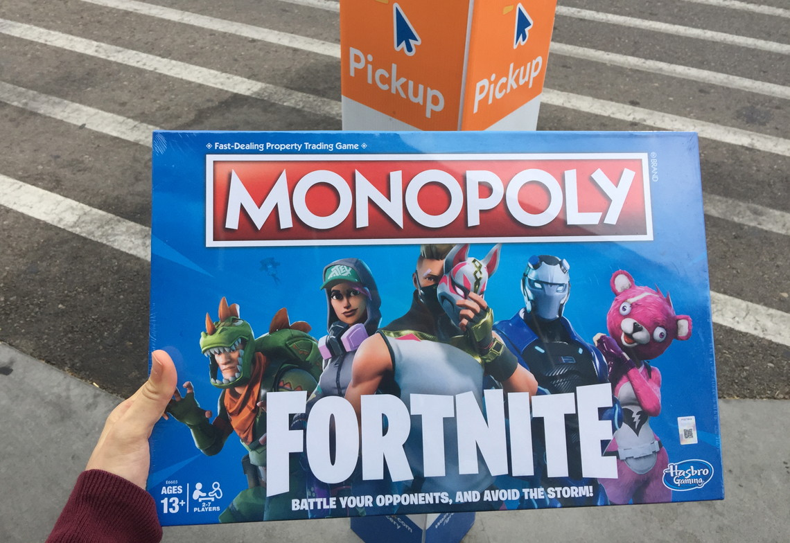 Walmart com: Monopoly Fortnite Board Game Available Now! - The Krazy