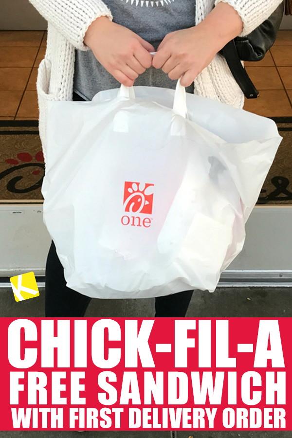 chick fil a doordash