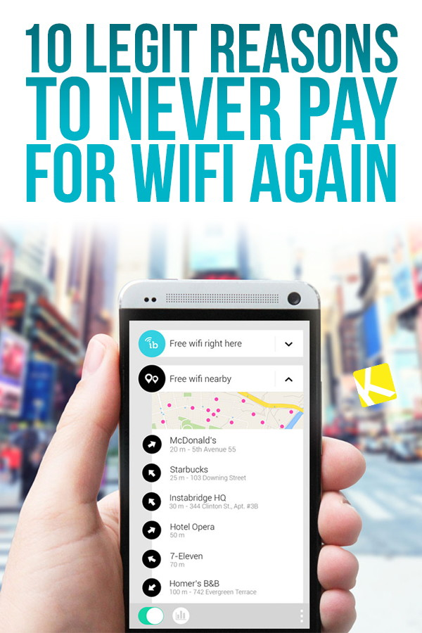 8 Legit Reasons to Never Pay for WiFi Again - The Krazy Coupon Lady