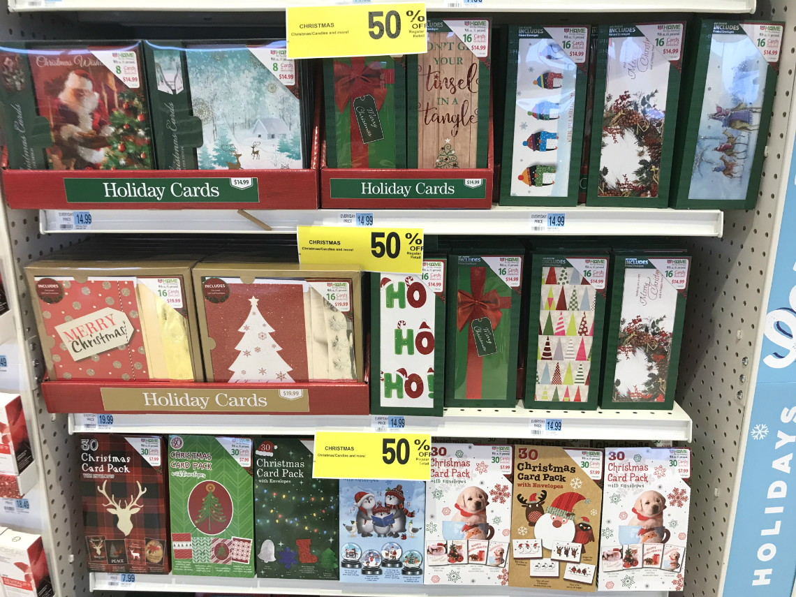 Rite Aid Christmas Cards.Boxed Christmas Cards As Low As 4 00 At Rite Aid The
