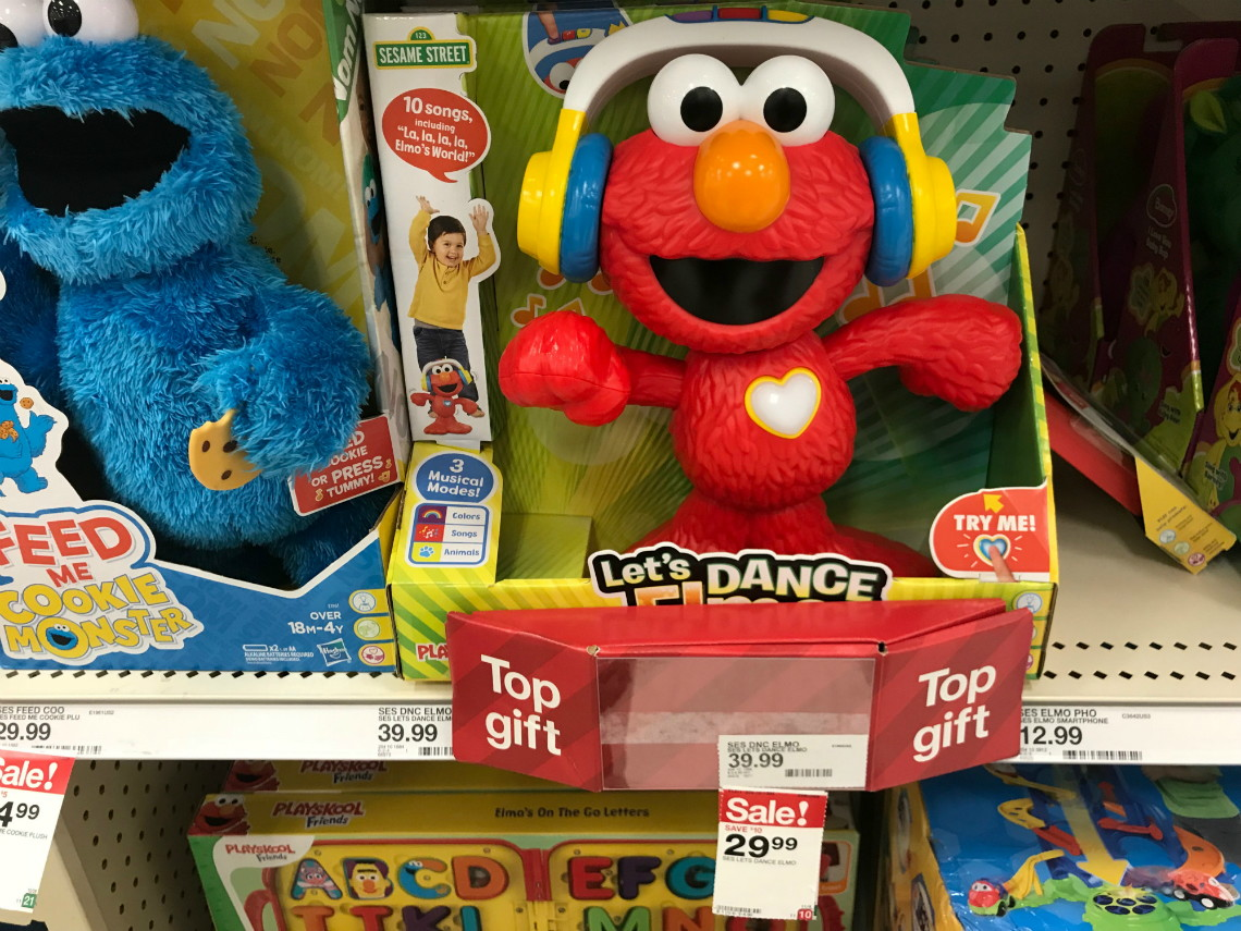 Let S Dance Elmo Only 21 37 At Target The Krazy Coupon Lady