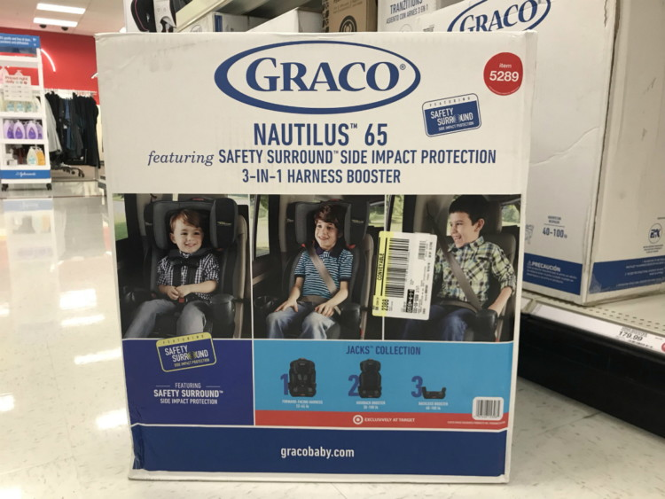 22e0bfd0ded3 Buy 1 Graco Nautilus 65 3-in-1 Harness Booster Seat With Safety Surround  (reg.  179.99)  89.99