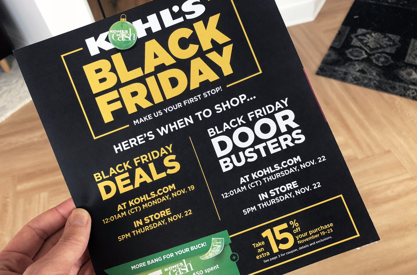 db23355d12fe Top 20 Kohl s Black Friday Deals for 2018! - The Krazy Coupon Lady