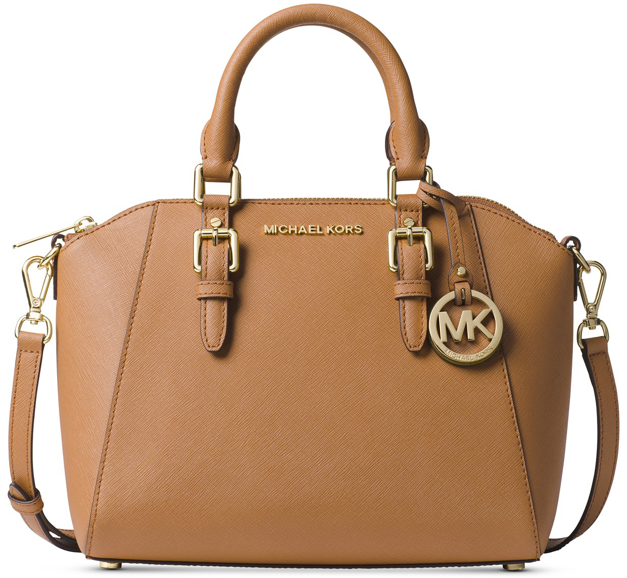 86185bf2043f Buy 1 MICHAEL Michael Kors Ciara Small Saffiano Leather Satchel (reg.  $228.00) $114.00, sale price through 11/24. Free shipping on orders $49+ or  free store ...