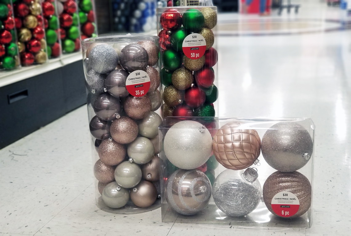 Michaels Christmas Ornaments.Christmas Ornament Sets As Low As 4 00 At Michaels The