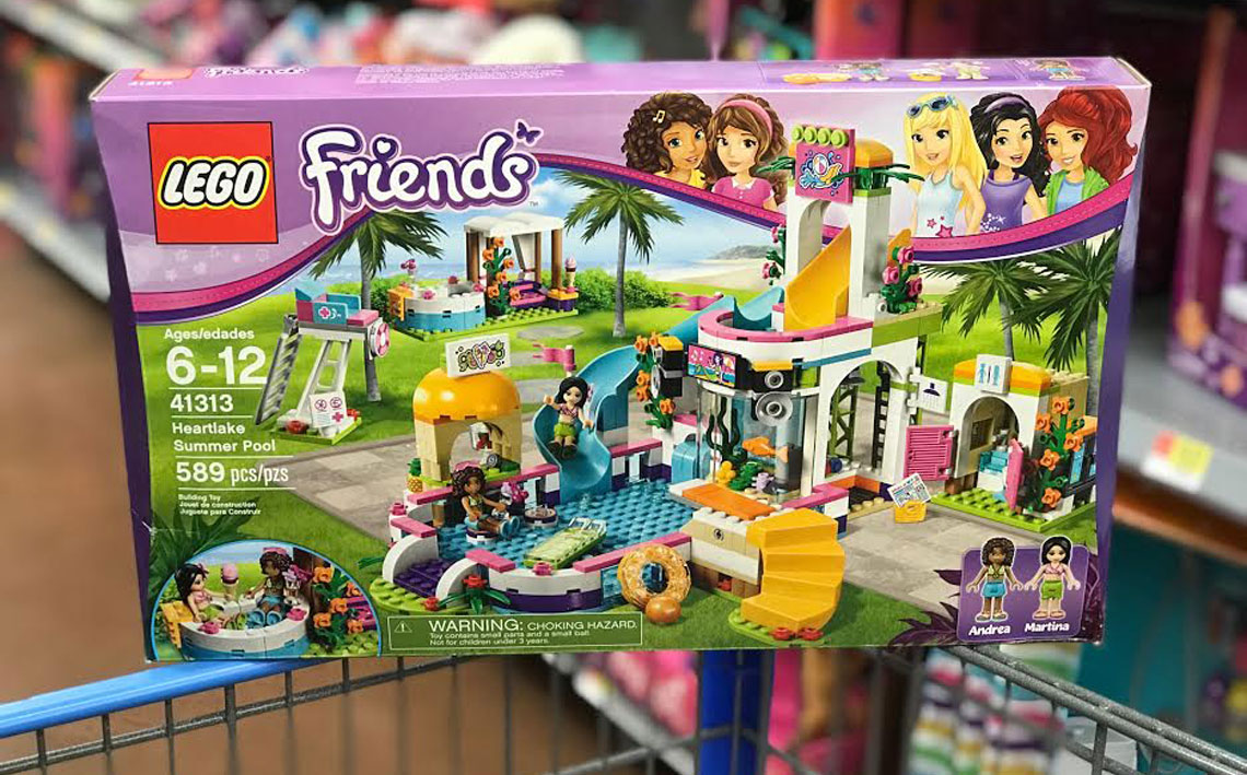 Lego Friends Heartlake Summer Pool Only 36 At Walmart The Krazy