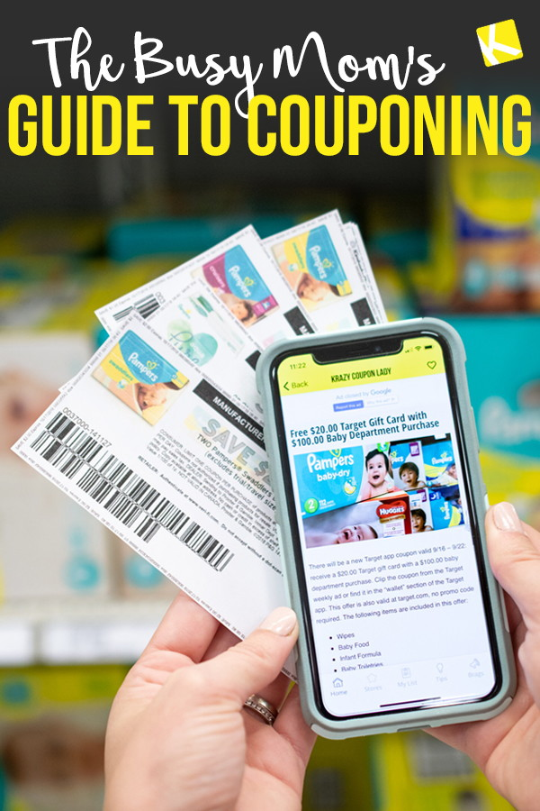 09372c84031 The Busy Mom s Guide to Couponing - The Krazy Coupon Lady