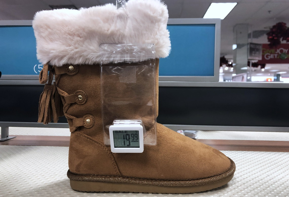 8191ec394c Buy 1 Girls' Boots ( reg. $39.99-$54.99 ) $19.99-$24.99, sale price through  12/31. Use unique text sign-up code for 15% off your purchase. Free shipping  on ...