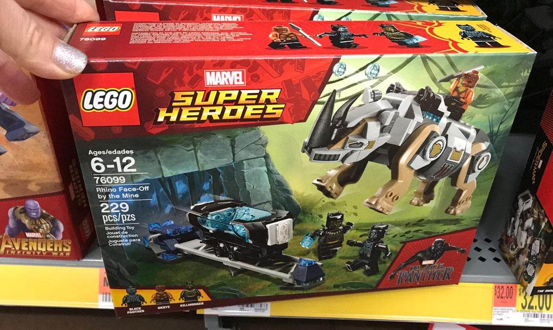 Lego Off12 Walmartreg20The Rhino Super Heroes Face At Pk8On0XNwZ