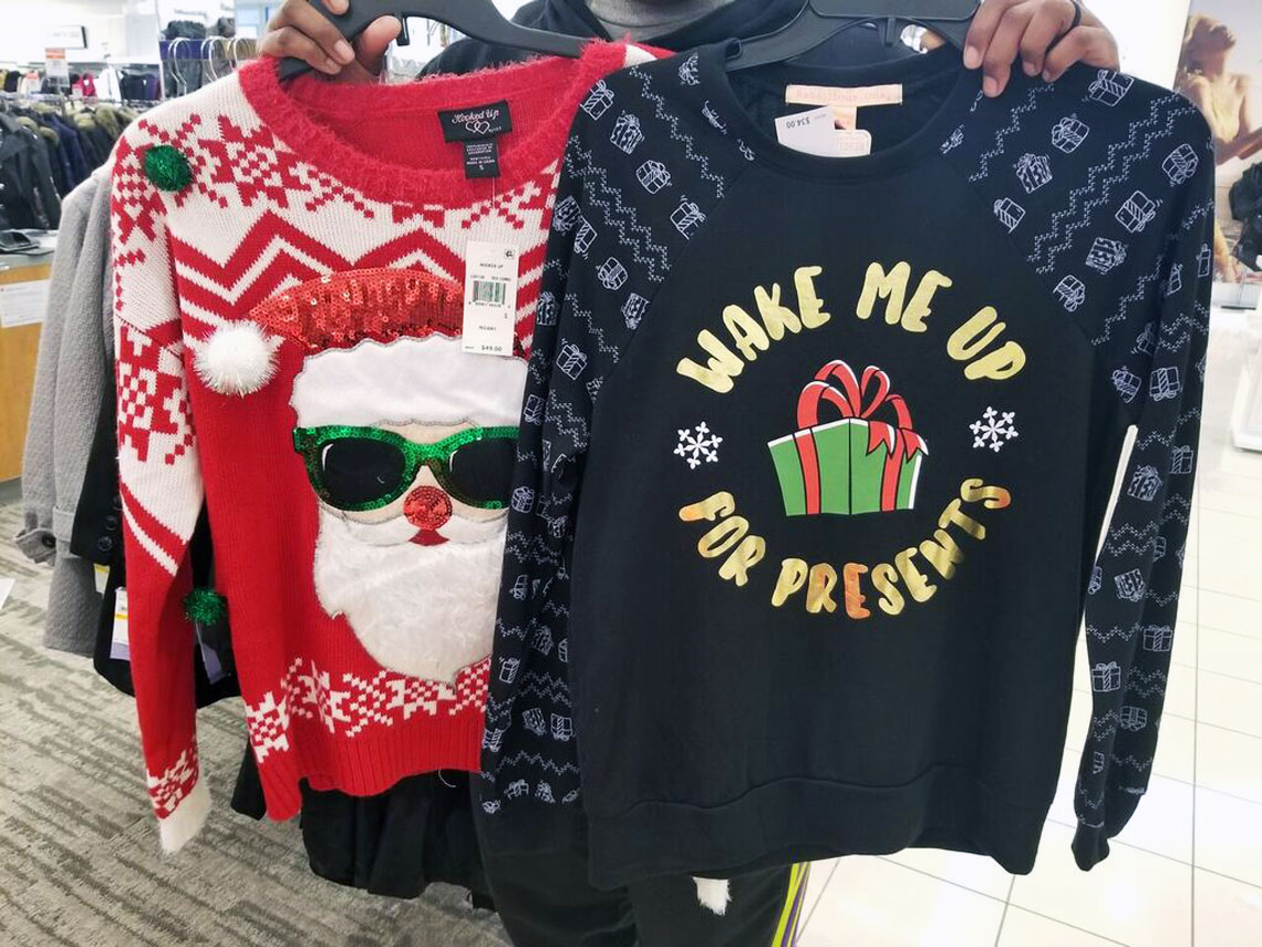 Macys Christmas Sweaters.Ugly Christmas Sweaters Only 12 59 At Macy S The Krazy